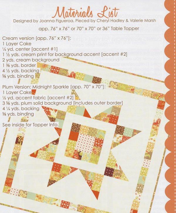 Sparkle Quilt Pattern Connectingthreads