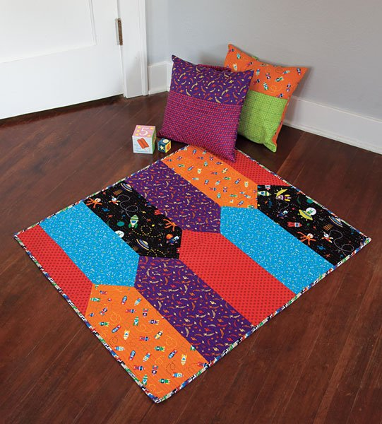 Mingled Baby Flannel Quilt Kit   ConnectingThreads com