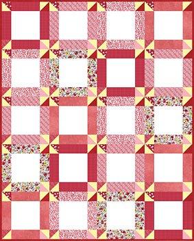 Sassy Pinwheels Quilt Pattern | Free Pattern