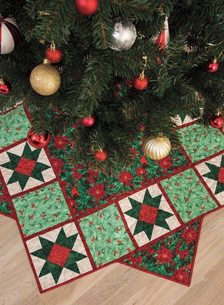 quilt kits elegant christmas tree skirt kit