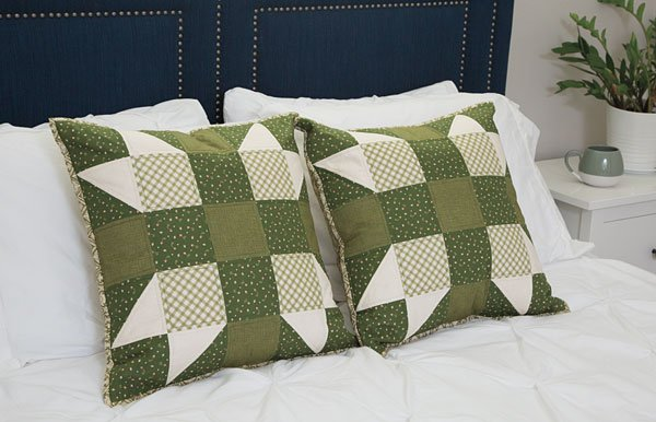 Serendipity Pillow Sewing Quilting pattern