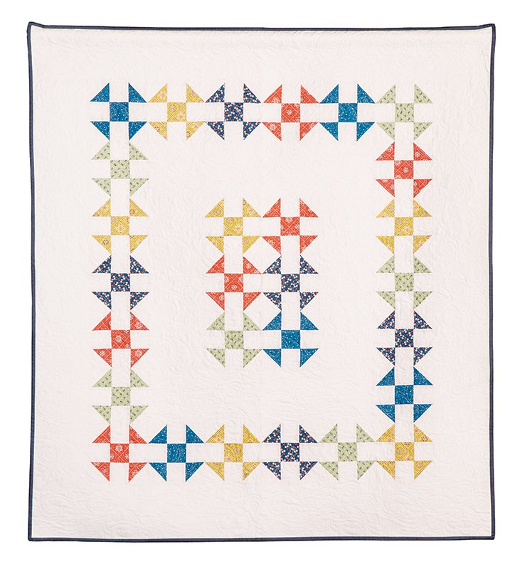 Keep It Simple Smaller Quilt Kit