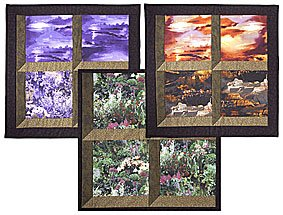 Christmas Attic Window Quilt Pattern.Free Simple Attic Windows Quilt Pattern From Connecting Threads
