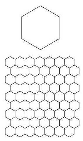 English Paper Piecing Hexagons Pattern Connectingthreads Com