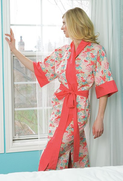 Lawn Kimono Robe Pattern Download Connectingthreads