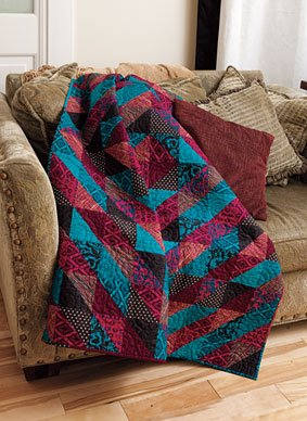 Half Square Triangle Fun Free Quilt Pattern Download