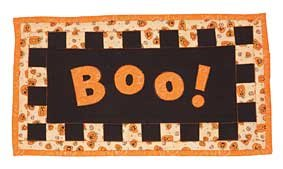 Free Boo Checkerboard Little Quilt Pattern