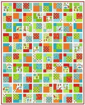 Woodland Patch Quilt Pattern Download