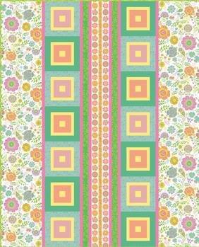 Bloom Box - Morning Blooms Quilt Pattern Download Free Pattern