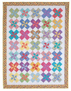 Double Pinwheels Quilt Pattern Download Free Pattern