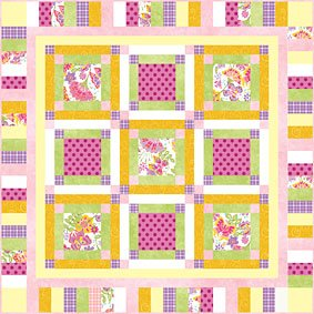 Bee Sweet Baby Quilt Pattern Download Free Pattern