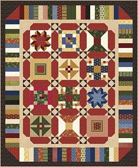 Lasting Legacies BOM Sashing & Borders Free Quilt Pattern